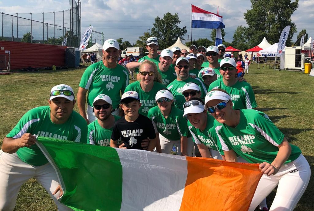The Co-Ed Slow Pitch National Team representing Ireland.
