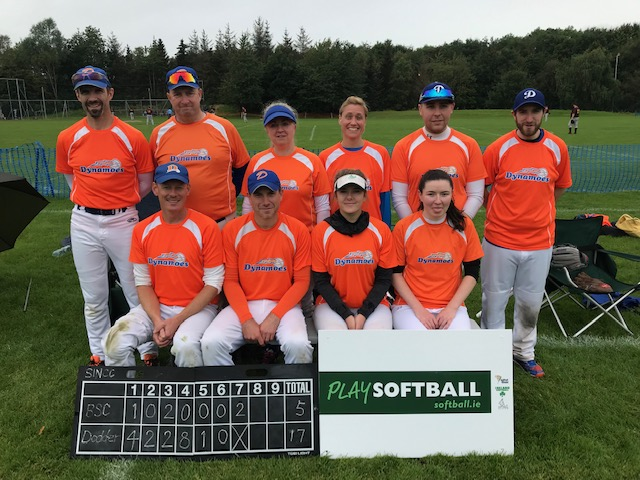 Dodder win the Softball Ireland National Club Championship in 2019.